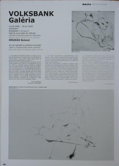 Részegh Botond: Sajtó / Publications 2008