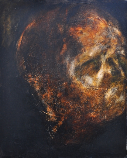 nightfall (100x80cm, 2013)